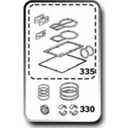 KIT JUNTAS+SEGMENTOS+SEMICASQUILLOS+RETEN B6000