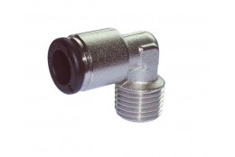 "RACOR RAP ANG. MET CONIC FIJO 1/4""-10MM"