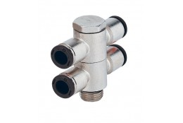 "RACOR RAP ANG. TE CILIND ORIENTABLE 1/4""-8MM"