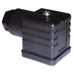 CONECTOR DIN 43650A 2+T PG11 NEGRO