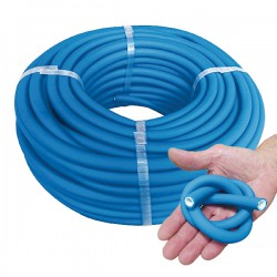 MANGUERA SUPER FLEXIBLE AZUL 10X15MM PACK 50M