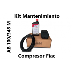 KIT MANTENIMIENTO COMPLETO CON ACEITE AB 100/348 M