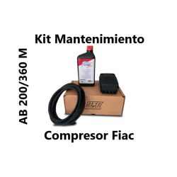 KIT MANTENIMIENTO COMPLETO CON ACEITE AB 200/360 M